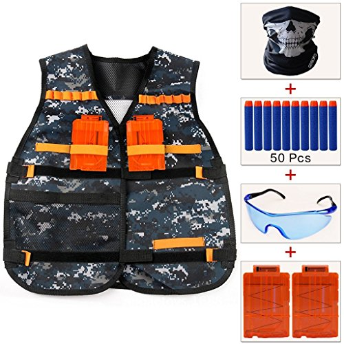 cosoro-kids-camouflage-tactical-vest-jacket-kit-with-50pcs-blue-foam-darts-protective-goggles-glasse