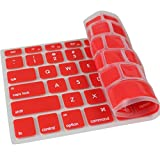 PINDIA RED MACBOOK PRO RETINA AIR 13 13.3 15 15.4 INCH ANTI DUST STAIN SILICON KEYBOARD COVER