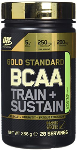 Optimum Nutrition Gold Standard BCAA Powder, 266 g - Apple and Pear