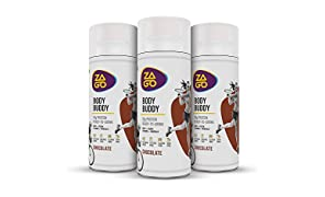 Zago Body Buddy Chocolate 20g Protein Drink (Pack of 6 Bottles 330ml)