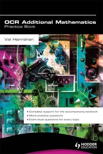 OCR Additional Mathematics Practice Book