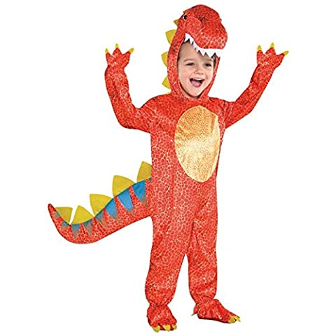 Costumes Pour Costume World Book Day - Amscan - 844660-55 - Déguisement Dinosaure -
