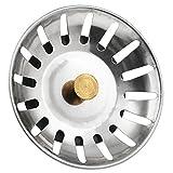 Yahee Siebkörbchen für Handbetätigung mit Durchmesser 80 mm