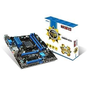 MSI A88XM-E45 Carte mère AMD A88X Micro ATX Socket FM2/FM2+