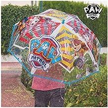 Paraguas Transparente Burbuja Azul La Patrulla Canina