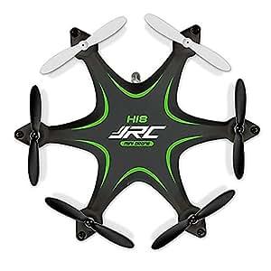 Haibei 3,35 * 2,87 * 0,98 pollici H18 Hexrcopter 2.4G 4CH 6 Axis Gyro Drone Rc Quadcopter 3d modalità Headless Rollover (Verde)
