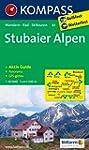 Stubaier Alpen: Wanderkarte mit Aktiv...
