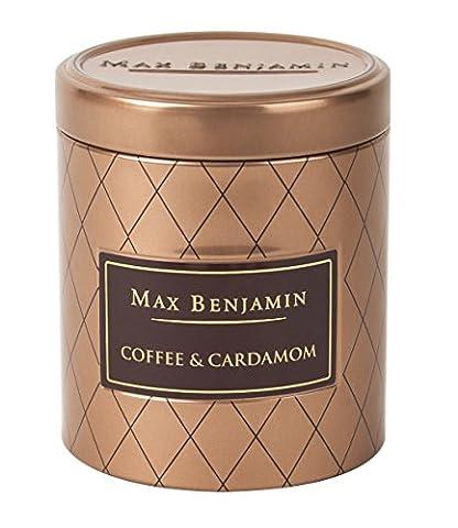 Max Benjamin Kaffee und Kardamom-Duftkerze in Dose