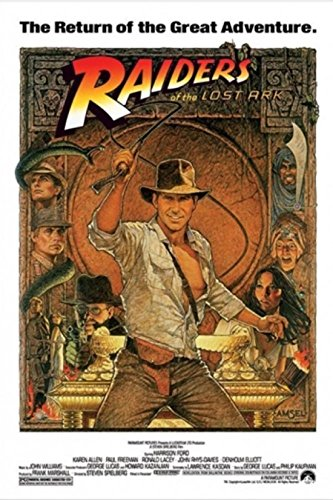 Raiders of the Lost Ark - Indiana Jones Poster
