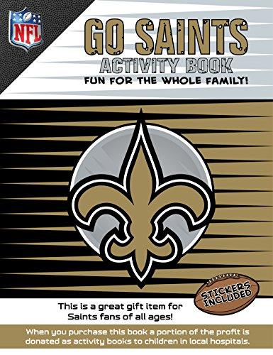 Go Saints Activity Book por Darla Hall