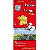Michelin Frankreich 2017 (plastifiziert): Straßen- und Tourismuskarte 1:1.000.000 (Michelin Nationalkarte)