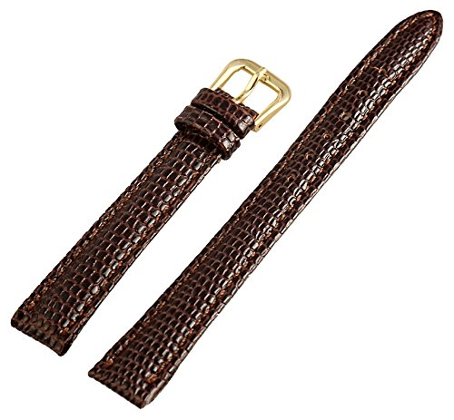 Leder Uhrenarmband Uhrenband Uhrband Ersatzband Armband braun 813370700012 Stegbreite 12 mm