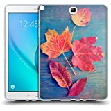 Official Olivia Joy StClaire Autumn Leaves On The Table Soft Gel Case for Samsung Galaxy Tab A 9.7