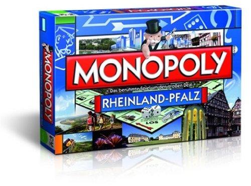 Monopoly Rheinland Pfalz Edition - Das berühmte Spiel um den großen Deal!