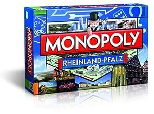 Winning Moves 42396 Monopoly Rheinland-Pfalz - Juego de mesa importado de Alemania