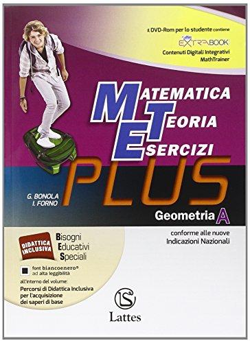Matematica teoria esercizi. Plus. Per la Scuola media. Con DVD. Con e-book. Con espansione online: 1