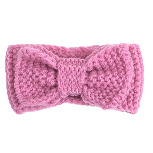 domybest Baby Newborn Mädchen Strick Crochet Haarband Winter Warm Bowknot Head Bands Haar Zubehör Foto Requisiten -