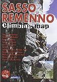 Sasso Remenno. Climbing map. Ediz. italiana, inglese e tedesca