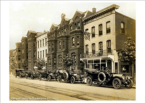 pullman-autos-in-washington-dc-vintage-american-street-scene-c1912-stunning-highly-detailed-a4-gloss