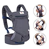 NEWSTYLE Baby Carrier Slings for Toddler,Safety Baby Front Back Carrier Infant Backpack Wrap,Premium