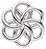 Laimons Damen-Anhänger Spirale Blume glanz Sterling Silber 925
