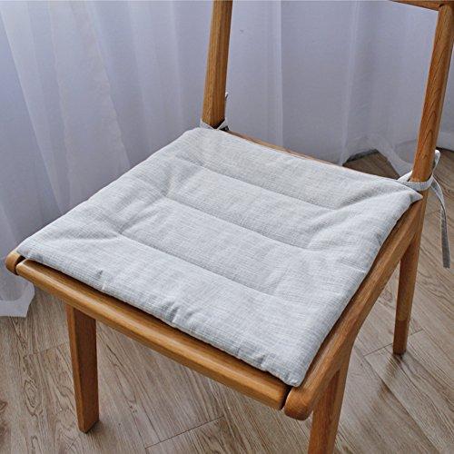 Asiento amortiguador - para alivio de dolor de espalda y dolor de ciática y cóccix - memoria espuma respaldo ideal para oficina y silla al aire libre,Coches Quitar dolor de ciatica-B 45x45cm(18x18inch)