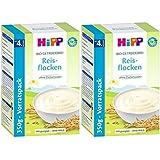 Hipp biologique flocons de riz de céréales fondant doucement, 2er Pack (2 x 350g)