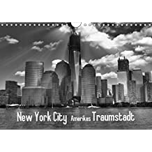 New York City Amerikas Traumstadt (Wandkalender 2018 DIN A4 quer): New York City Amerikas Traumstadt in hochwertigen schwarz - weiss Ansichten ... Orte) [Kalender] [Apr 01, 2017] Wulf, Guido