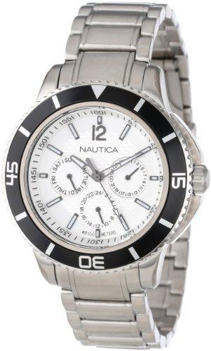 Nautica Mixte N19593G NCS 450 Tobago Classique Analogique Avec Enamel Couronne Montre