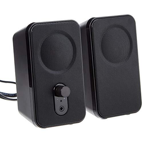AmazonBasics V216US 4.6 W 2.0 Channel Speakers