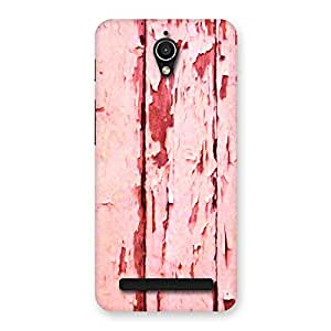Bar Ripped Red Back Case Cover for Zenfone Go