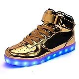 DoGeek Scarpe Uomo Adulto Unisex LED Luminosi Sneakers con Le Luci Accendono Scarpe Sportive