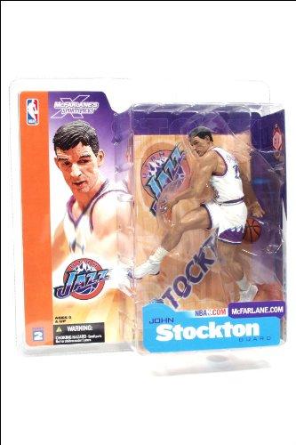NBA Figur Serie II (John Stockton - purple Jersey)