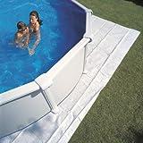 Manufacturas Gre MPROV610 - Tapis de sol  en feutre 6,25 x 4 m pour piscine ovale