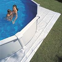 Manufacturas Gre MPR400 - Tapis de sol en feutre pour piscine ronde  Ø 4,00 m