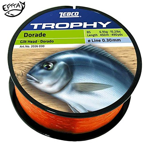 Zebco Topic Dorade Specialine Monofile Schnur - Ø 0,35 mm / Dorado / Frisch