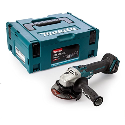 MAKITA DGA504ZJ1 - 125 MM 18 V AMOLADORA ANGULAR SIN ESCOBILLAS SIN CABLE DE ION-LITIO CON EL CASO MAKPAC