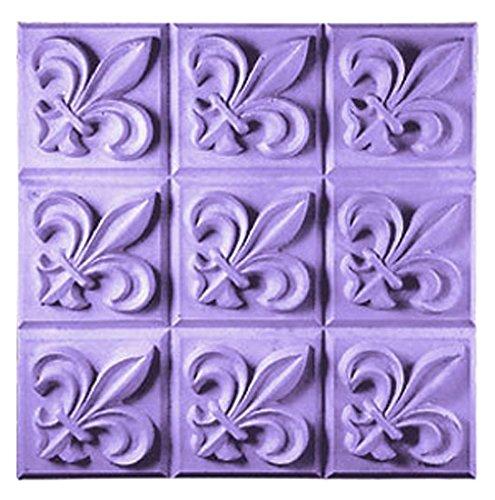 CybrTrayd Fleur De Lis Form in versiegeltem Polybeutel, 44 Seiten Handbuch (Soap-kunststoff-formen)