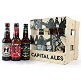 Capital Ales: Wooden Crate of microbrewery Beers from London breweries