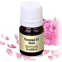 Preisvergleich für Rosenöl 2,5ml - Rosa Damascena Bulgarisch - 100% Ätherisches Rose Öl - Besten für Beauty - Wellness - Schönheit...