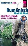 Reise Know-How Sprachführer Rumänisch - Wort für Wort plus Wörterbuch: Kauderwelsch-Band 52+