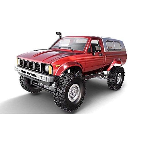Zantec Control remoto camión de militar 4 ruedas Drive Off-Road RC modelo de coche de Control remoto,juguete del regalo del coche que sube