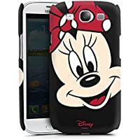 Samsung Galaxy S3 Neo Case Hülle Cover Premium Case matt black - Minni Maus Minnie Mouse All Over