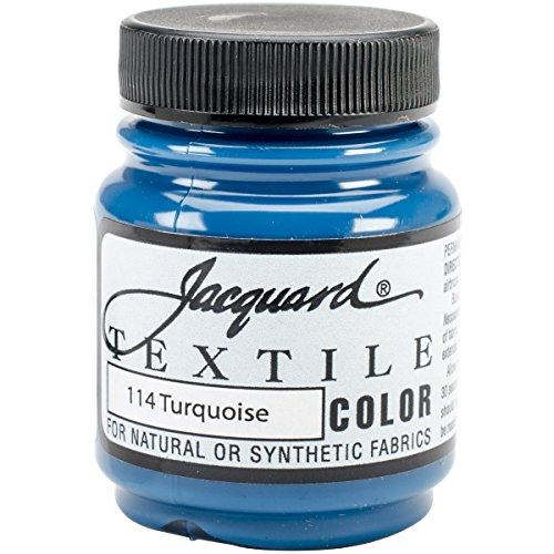 Jacquard Peinture Acrylique pour Tissu - Turquoise
