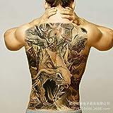 tzxdbh 2 Piezas-Nuevo [91 Opcionales] Pegatinas para Tatuaje con Respaldo Completo, Geisha de Larga duración, Phoenix Kowloon Lama con número de Respaldo Completo 81
