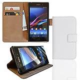 EximMobile Brieftasche Handytasche Flip Case Etui für Sony