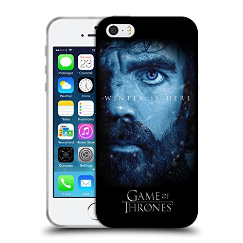 Offizielle HBO Game Of Thrones Jon Snow Winter Is Here Soft Gel Hülle für Apple iPhone 6 Plus / 6s Plus Tyrion Lannister