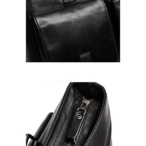Stilvolle Laptop-Tasche Geschäftsmann Tasche Black