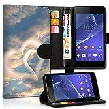 Book Style Alcatel One Touch Go Play 7048X Premium PU-Leder Tasche Flip Brieftasche Handy Hülle Kartenfächer mit Standfunktion für Alcatel One Touch Go Play 7048X - Design Flip MVX211