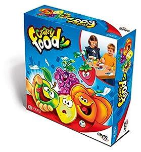 Cayro- Juego Crazy Food thinkfun +6 años, Multicolor (339)